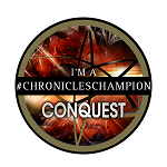CHRONICLES CHAMPION BADGE