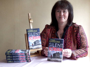 Angie Marsons with Silent Scream Books Image