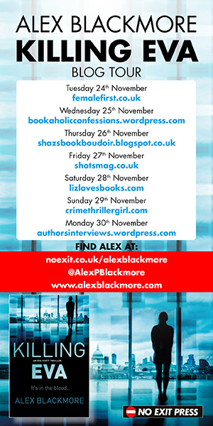 Alex Blackmore blog tour banner