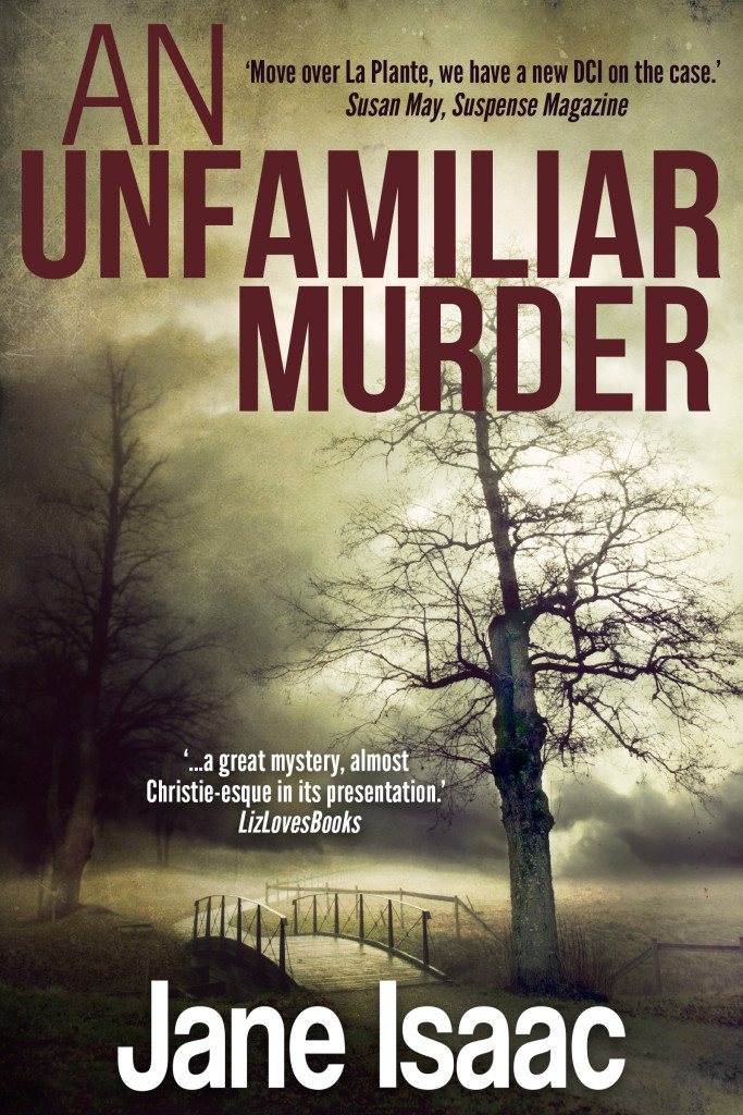 AN UNFAMILIAR MURDER EBOOK COVER COMPLETE