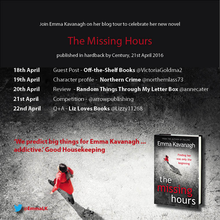 The Missing Hours blog tour banner