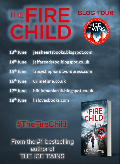 The Fire Child blog tour banner