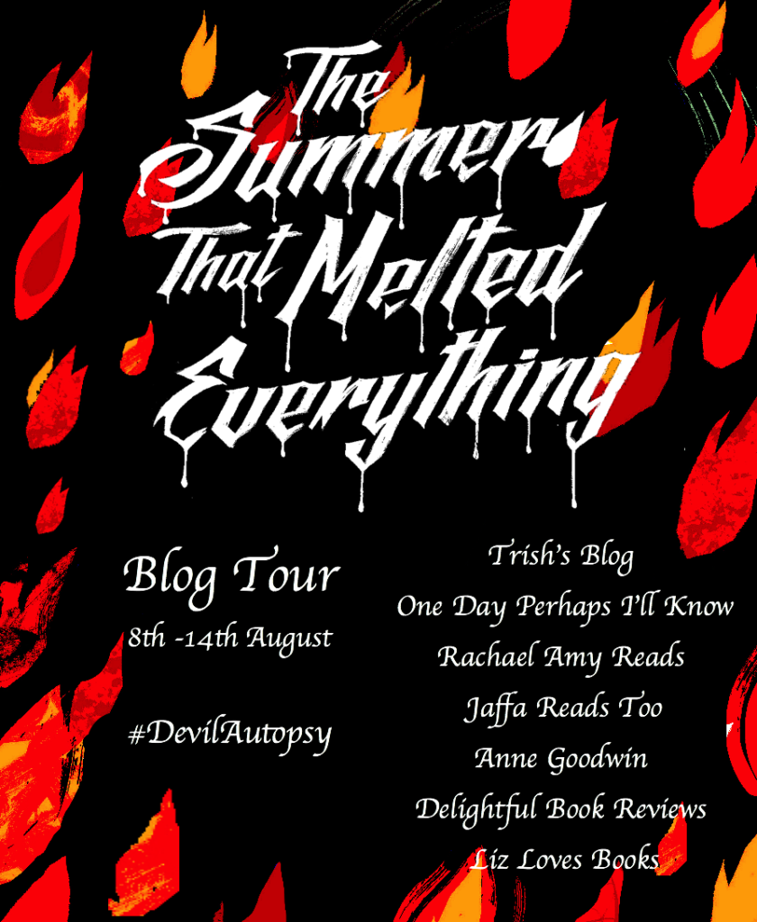 blog tour summer that melted everything